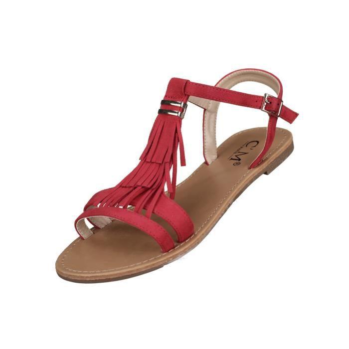 Sandales femme C M 839-700 Red