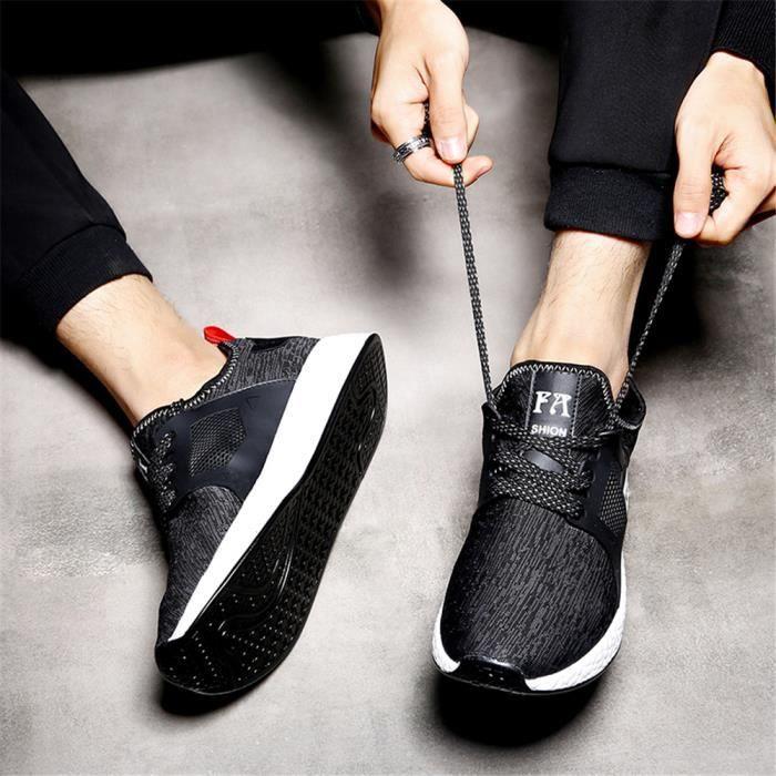 Cool Chaussures Xsh Arrivee Classique Confortable noir Nouvelle Personnalité Blanc Hommes Sandales EUtaZqx5wW