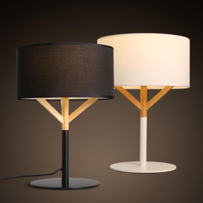 mode nordique tissu d art en bois lampe de chevet Résultat Supérieur 15 Frais Lampe De Chevet Contemporaine Stock 2017 Lok9