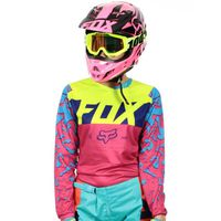 Blouson moto fox femme