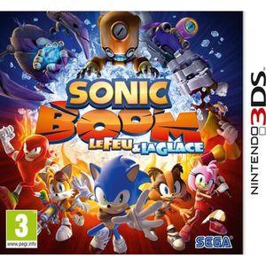 JEU 3DS Sonic Boom le Feu & la Glace Jeu 3DS