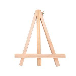 CHEVALET DE TABLE 1pc New mini en bois art Holder présentoirs de fan