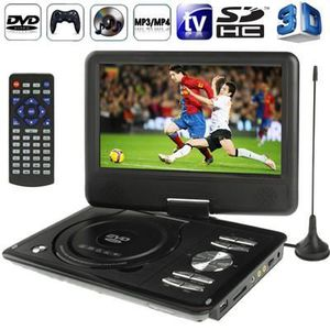 LECTEUR DVD PORTABLE DVD- 3D noir Console jeux portable 9