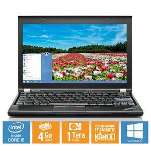 ORDINATEUR PORTABLE Ultrabook portable LENOVO THINKPAD x220 core i5 4