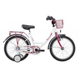 VÉLO ENFANT Vermont Girly - Vélo enfant 18 pouces - rouge/rose