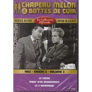 DVD SÉRIE Chapeau melon et bottes de cuir -S3 V2 -1963 -1 DV