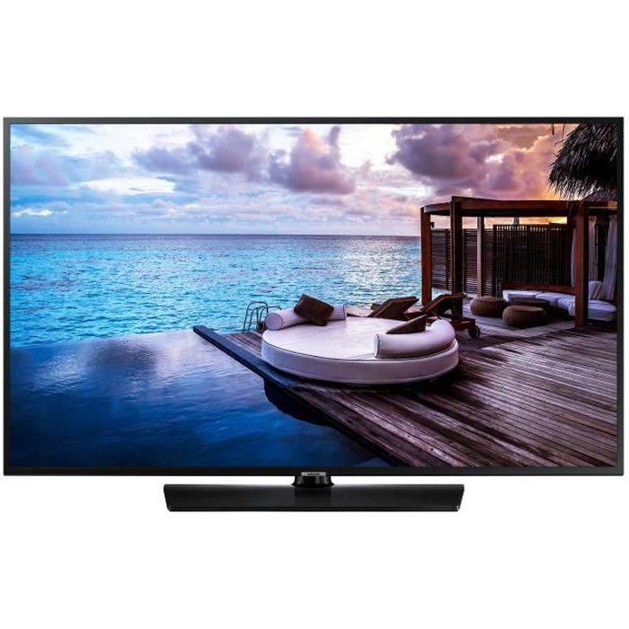 Samsung hg49ej670ub classe 49 hj670u series tv led hôtel hospitalité smart tv tizen os 4.0 4k uhd 2160p