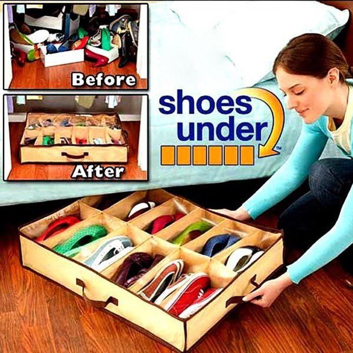 boite rangement chaussures achat vente boite rangement. Black Bedroom Furniture Sets. Home Design Ideas