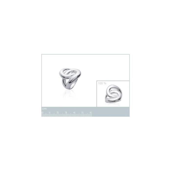 Isady - Waka Argent Rhodié - Bague femme - Argent Sterling 925 - Rhodium