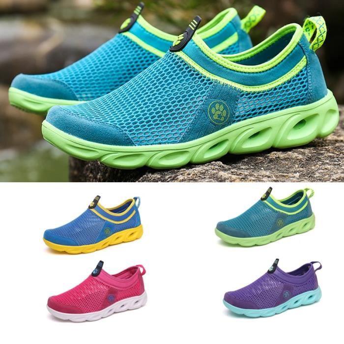 Imperméables simples Mocassins Chaussures d'été sport féminin