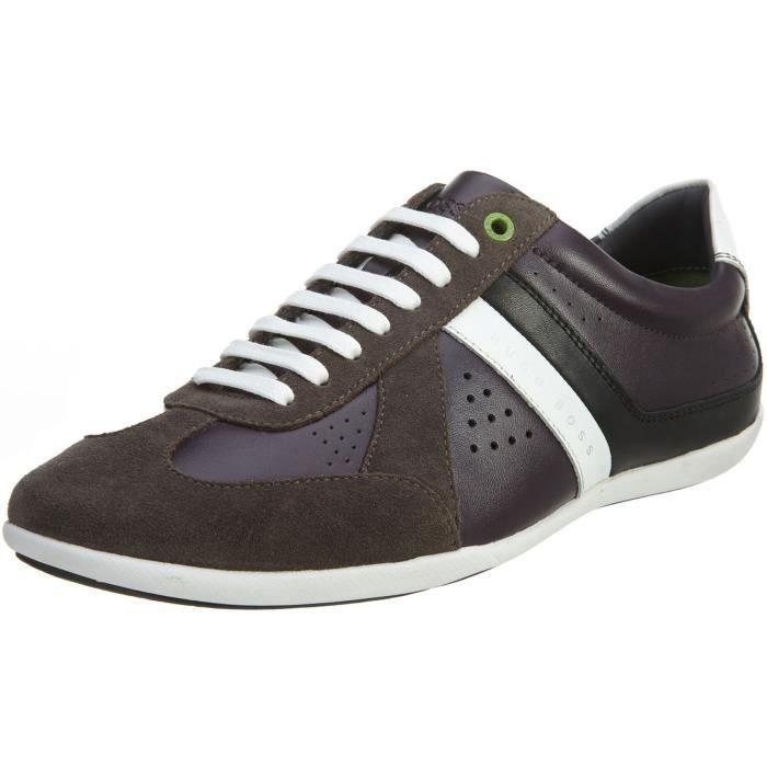 fc5de848b56327 Hugo Boss Hommes Chaussures Ville Expédition 50306845-001 In Black GFU0M 47