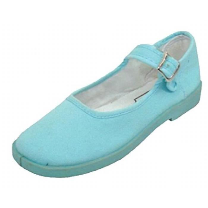 Cotton Mary Jane Ballerines Ballerines Chaussures IOI7O Taille-37 MoBf6YGYz1