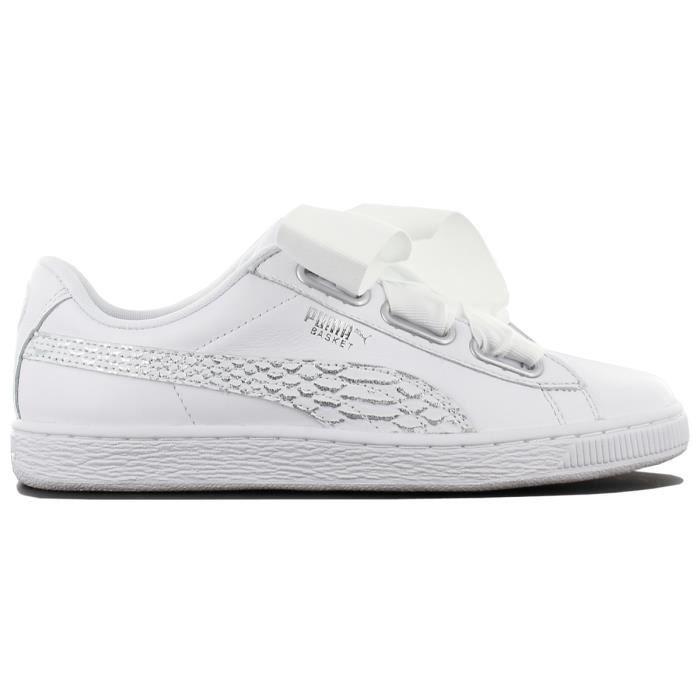 366443 Oceanaire Blanc Heart Chaussures Sneaker Femmes 02 Basket Baskets Puma A35jL4R