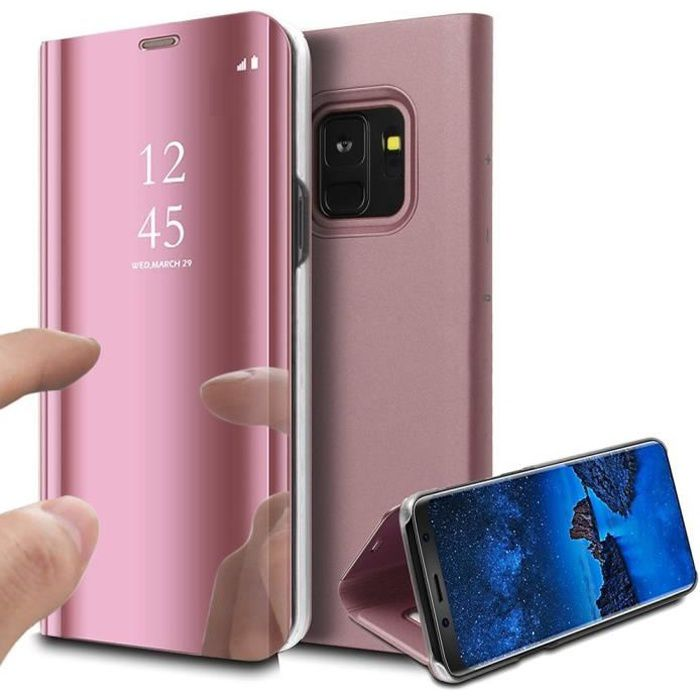 coque samsung note 9 clear view cover
