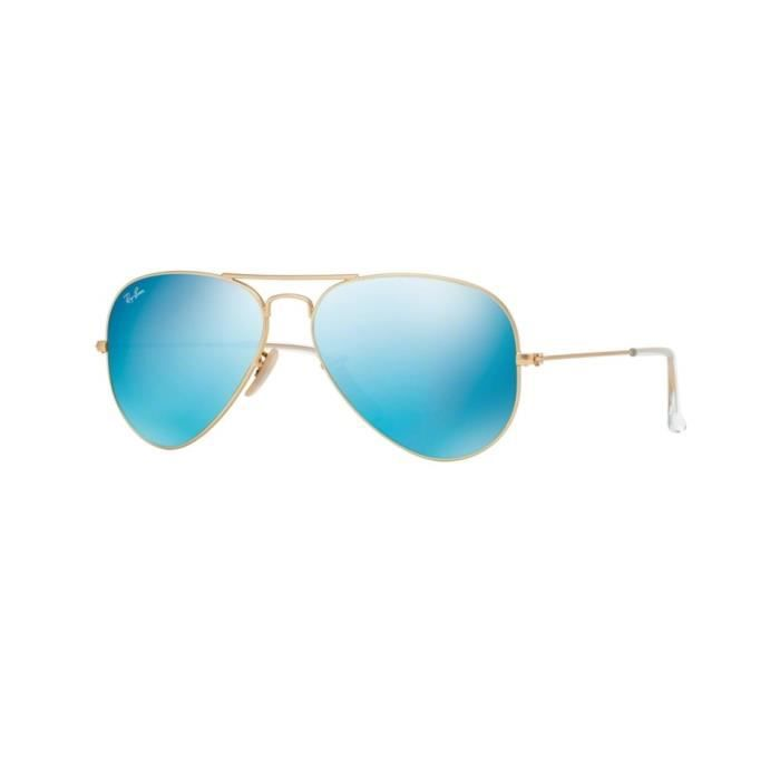 Lunettes de soleil Ray-Ban HommeAVIATOR LARGE METAL RB3025 112/17 Or58 x 50,1