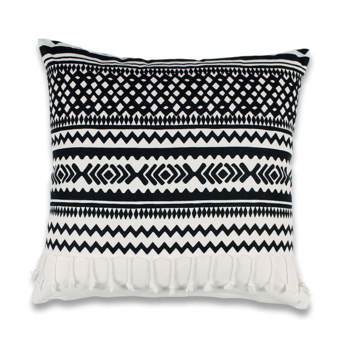 housse de coussin ethnique achat vente pas cher. Black Bedroom Furniture Sets. Home Design Ideas