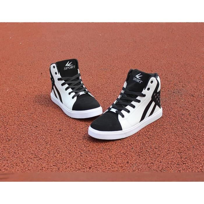 Printemps New Style Mode Cor enne Loisirs High Top Les chauves souris dhomme MHuvJ
