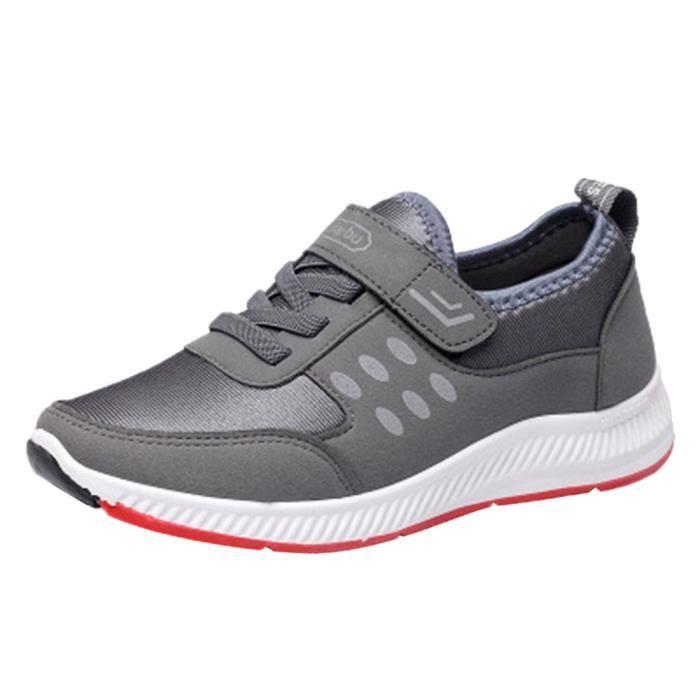 Tissu Et Chaussures Extensible Flats En Casual Respirant Femmes coercoo Mocassins W8xd4qAwAX