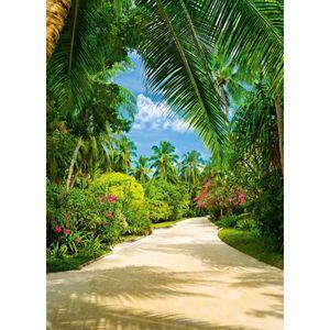 PAPIER PEINT Papier Peint Tropical Pathway photo, papiers peint