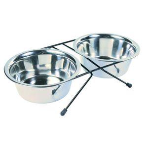 TRIXIE Set écuelles Eat on Feet pour chien