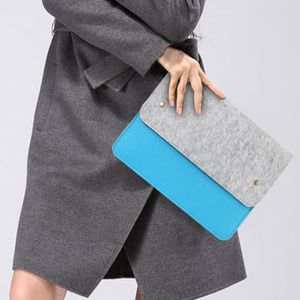 Bleu Housse transport ultra de pouces manchette en finement ordinateur portable en pour 13 feutrine protectrice Sac laine ordinateur qpFat