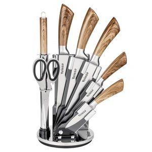 COUTEAU DE CUISINE  Velaze Set de Couteaux de Cuisine Professionnels 8