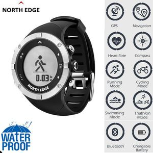 CHRONOMÈTRE NORTH EDGE Montre de sport intelligente Heure GPS
