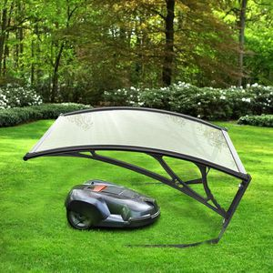 TONDEUSE Carport robot tondeuse garage toit abri
