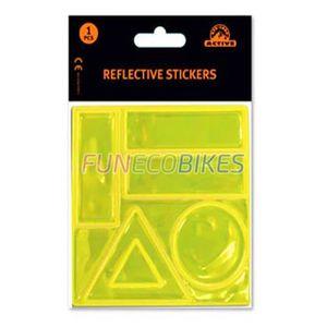 DÉCORATION VÉHICULE Planche de 5 stickers réfléchissants pour vélo et