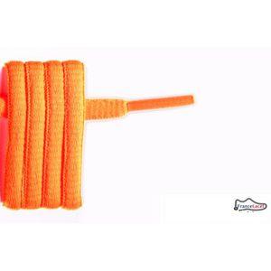 LACET  lacet ovale orange fluo 175 cm
