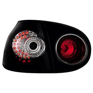 PHARES - OPTIQUES 2 Feux LEDS adaptables pour VW Golf V - Noir