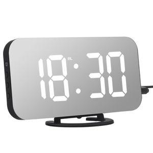 Radio réveil Pack de Trois Réveil Adoric, Horloge numérique ave