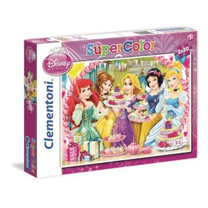 PUZZLE DISNEY PRINCESSES Puzzle 2x20 pièces Clementoni
