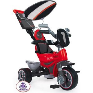 TRICYCLE INJUSA Tricycle avec Pare Soleil Rouge