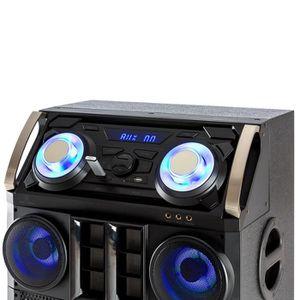 ENCEINTE ET RETOUR Malone Big Party 1500 Système audio DJ Bluetooth U
