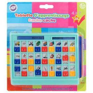 TABLETTE ENFANT Tablette d'apprentissage cache-cache multicarte…