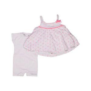 a05617609b6c5 Robe bébé fille ABSORBA Naissance blanc été - vêtement bébé  1039716 ...