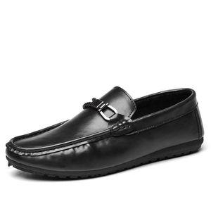 Chaussures en Cuir pour Hommes Cuir Véritable Classique Lacets Perforés Perforés Upper Oxford Doublés Chaussures de Sport en Cuir pour Hommes (Color : Brown, Size : 41 EU)
