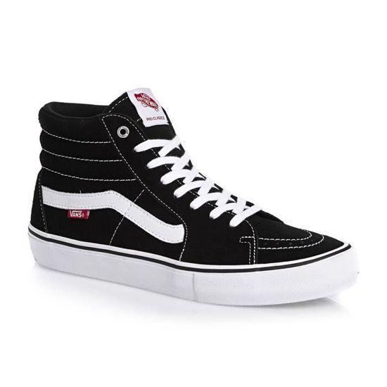 Sk8 Pro Vans Noir Vente Chaussures Achat Skateshoes Hi w1OZq8