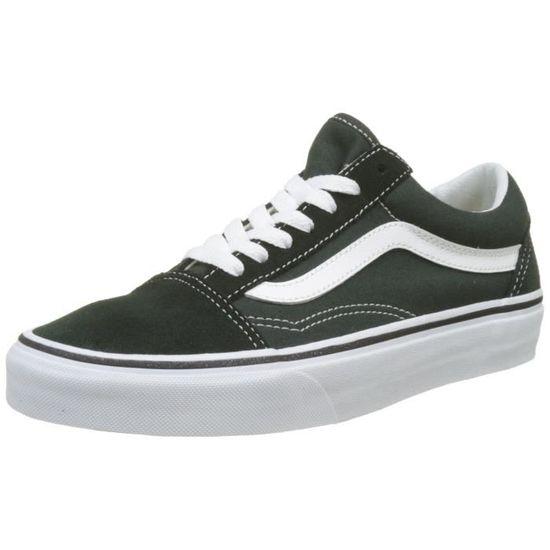 Vans hommes Old Skool Sneaker W64RC Taille-43 Blanc Blanc - Achat / Vente basket