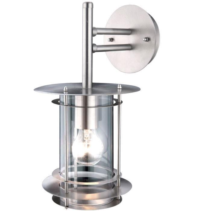 Luminaire extérieur - Inox - 60W 230VLAMPADAIRE DE JARDIN - LAMPE DE JARDIN