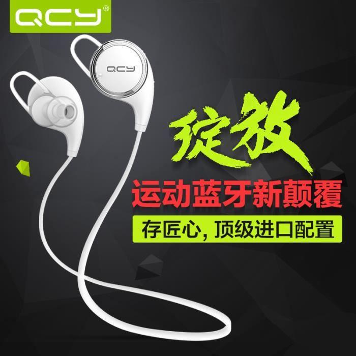 Nouveau Qcy Qy8 Sans Fil Bluetooth 4.1 Stéréo Écouteurs Mode Sport Courir Casque Studio Music Avec Microphone