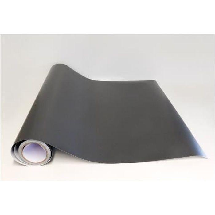 Rouleau Adhesif Gris Fonce Mat 4 M X 61 5 Cm Papier Peint