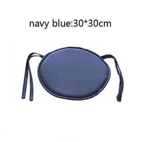 coussin rond 30 cm bleu achat vente coussin rond 30 cm. Black Bedroom Furniture Sets. Home Design Ideas
