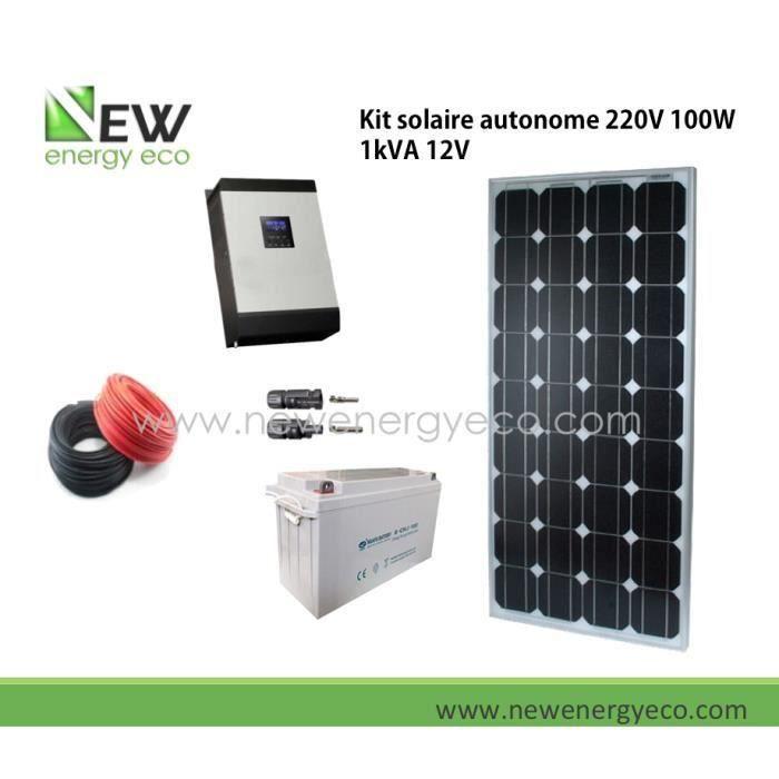 kit solaire autonome amazing armoire solaire powerpack prte luemploi avec w de panneaux. Black Bedroom Furniture Sets. Home Design Ideas