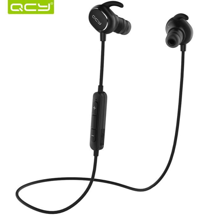 Qcy Qy19 Ipx4 Écouteurs Sweatproof Bluetooth 4.1 De Sport Sans Fil