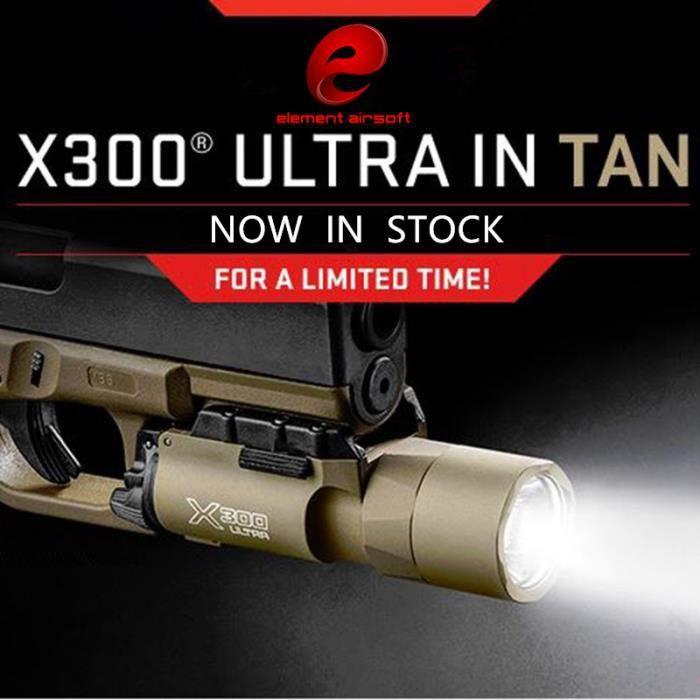 Tactique X300 Ultra Arme Lumieres Pistolet Lanterna Airsoft Lampe De