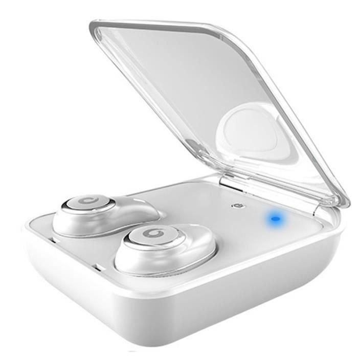 I7plus Binaural Tws Stéréo Sport Sans Fil Mini Avec Bac De Chargement Bluetooth Casque