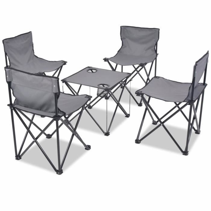Table 4 Chaises Camping