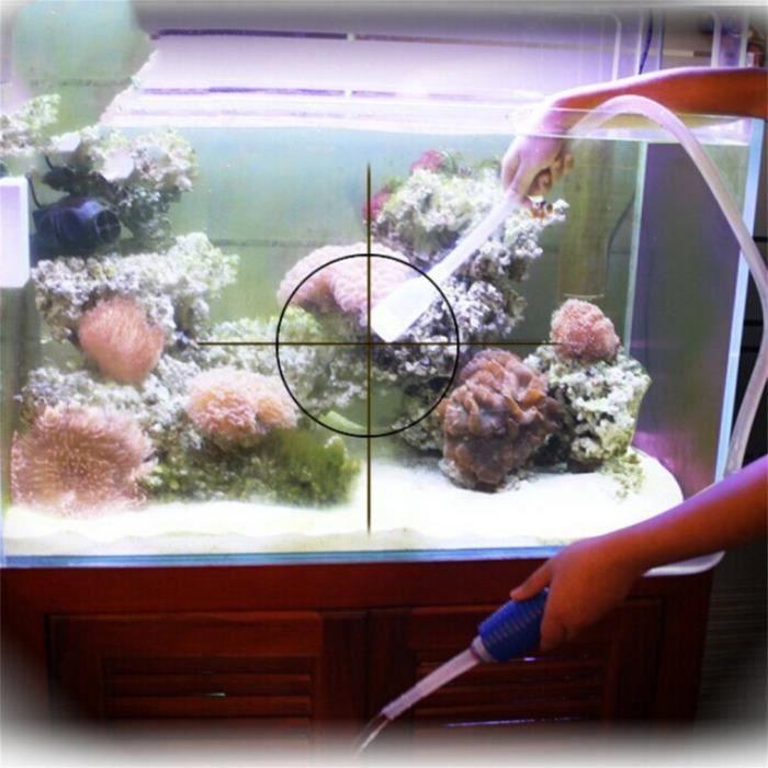 1 X Dispositif D'aspiration De Tuyau D'eau Pour Le Sable Lavage D'aquarium 1.43m